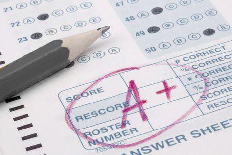 تصحيح الاختبارات